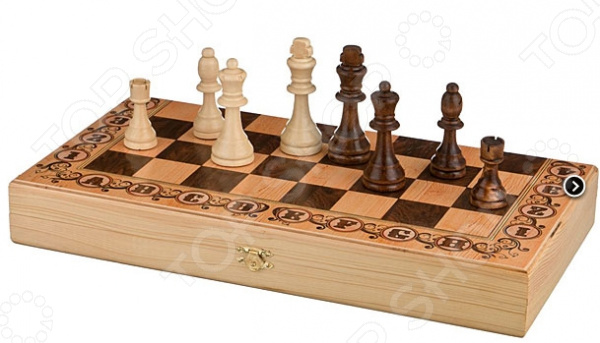 Шахматы Lefard «Дебют» 28-315 настольные игры экспедиция шахматы дорожные
