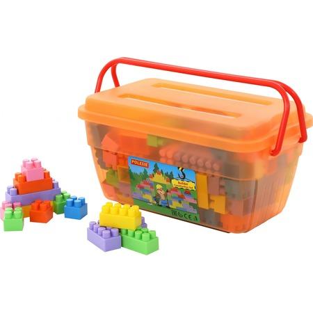 Купить Конструктор игровой POLESIE «Строитель» в контейнере