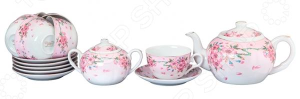 Чайный набор Elan Gallery «Сакура» 730508