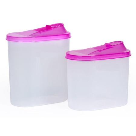 Купить Набор банок для сыпучих продуктов Полимербыт SGHPBKP55 «Овал»