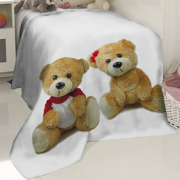фото Плед флисовый ТамиТекс «Медвежата»