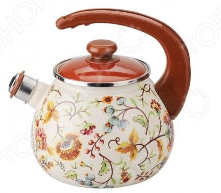 Чайник со свистком Idilia «Майолика» gipfel чайник для кипячения воды visit 2 7 л