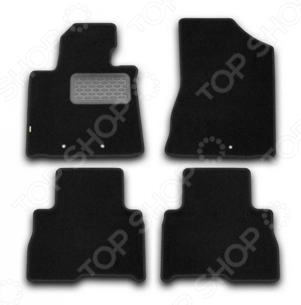 цена на Комплект ковриков в салон автомобиля Klever KIA Sorento 2012 Standard