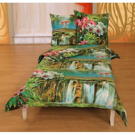 Купить Комплект постельного белья Диана «Свидание с любимым». 1,5-спальный