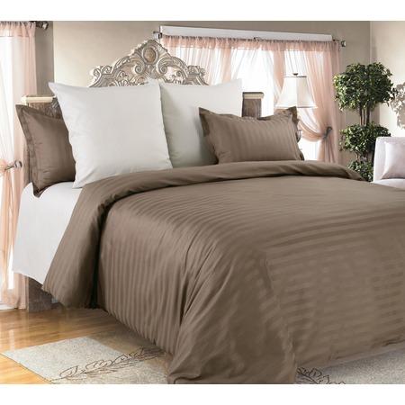 Купить Комплект постельного белья Королевское Искушение «Капучино». Евро