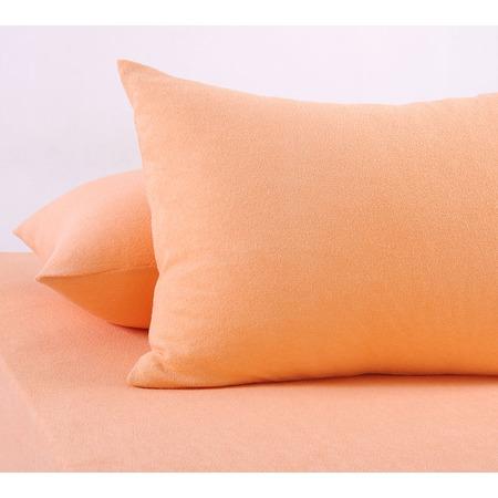 Купить Набор из 2-х наволочек ТексДизайн «Махра». Цвет: персиковый