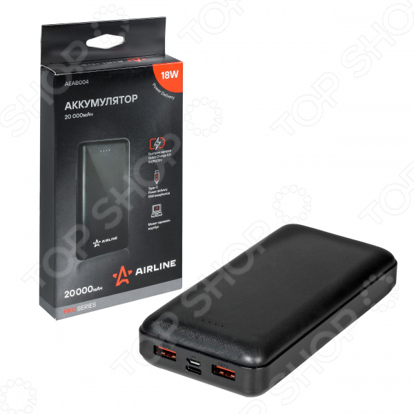 Аккумулятор внешний Airline Pro AEAB004
