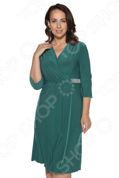 Платье Лауме-Лайн «Нежный цвет». : изумрудный