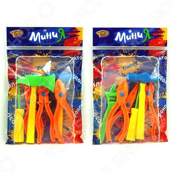 Набор инструментов игровой Yako 1724726 hasbro play doh игровой набор из 3 цветов цвета в ассортименте с 2 лет