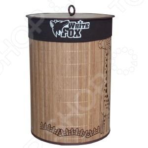 Корзина для белья White Fox BAMBOO Beauty корзина для белья white fox bamboo comfort