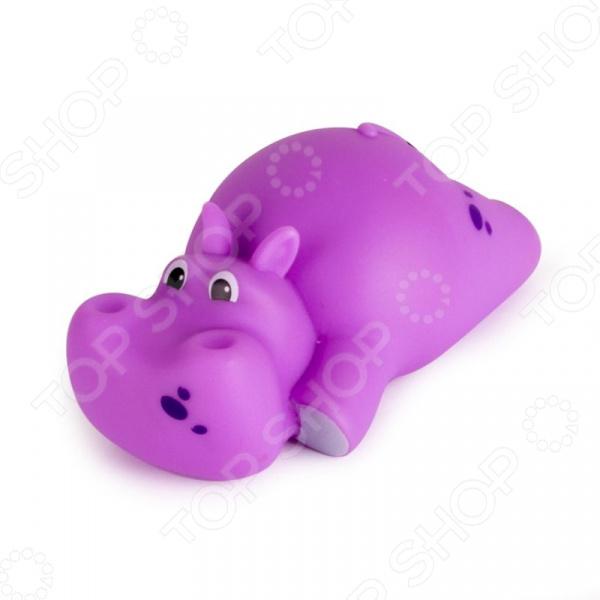 Игрушка для ванны детская Happy Snail «Бегемот Бубба»