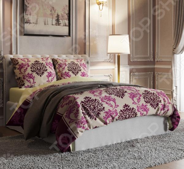 Комплект постельного белья Стильный дом «Богема» фотоштора стильный дом фотошторы стильный дом романтичный букет