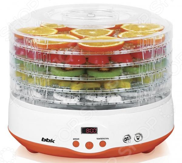 Сушилка для овощей  фруктов BBK BDH204D