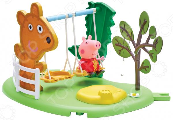 Игровой набор с фигуркой Peppa Pig «Площадка. Качели»