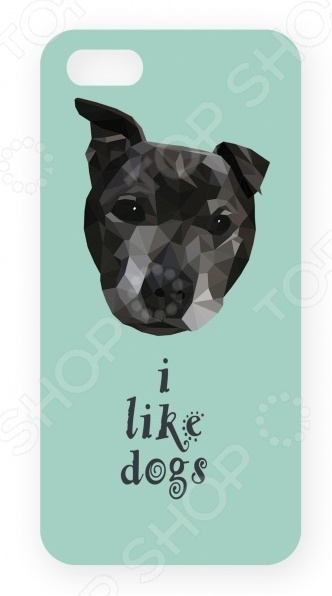 Чехол для IPhone 5 Mitya Veselkov I Like Dogs