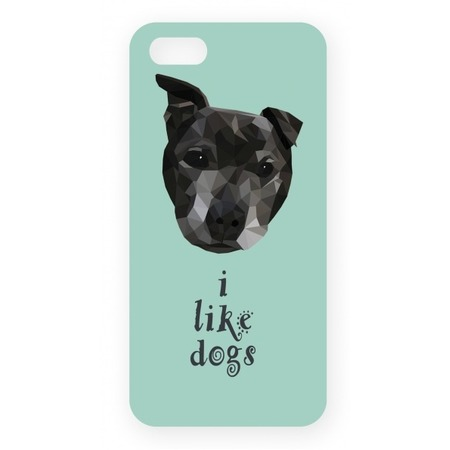 Чехол для IPhone 5 Mitya Veselkov I Like Dogs