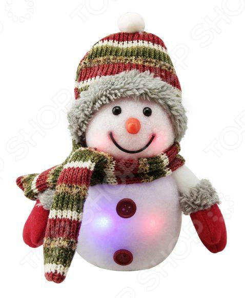Светильник декоративный Новогодняя сказка LED «Снеговик»