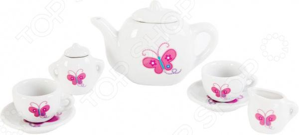 Набор посуды игрушечный Mary Poppins «Бабочка» 453017 сюжетно ролевые игрушки mary poppins набор посуды бабочка 453017 9 предметов