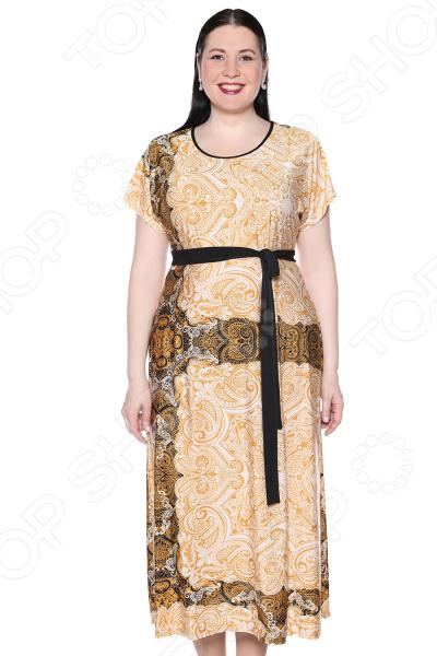 Платье Лауме-Лайн «Роскошный вечер». Цвет: бежевый