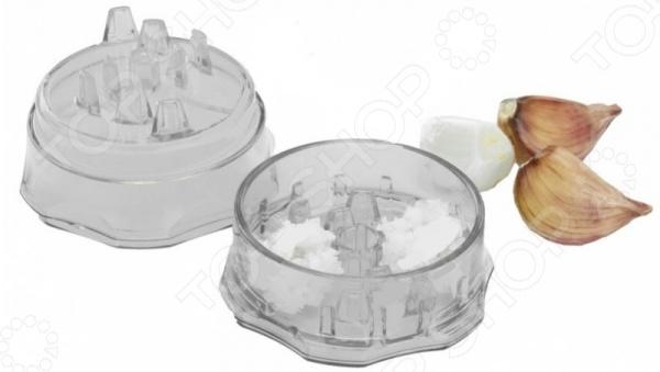 Измельчитель для чеснока Bradex TK 0189 кухонная принадлежность bradex держатель чайных пакетиков и ложки кролик pink tk 0234