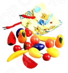 Игрушка развивающая RNToys «Волшебный мешочек. Фрукты-ягоды» Д-297