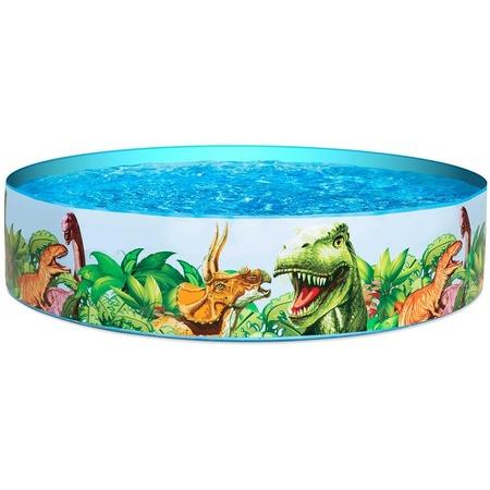 Купить Бассейн с жестким бортом Bestway «Динозавры»