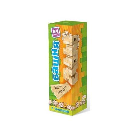 Купить Игра настольная БЭМБИ «Башня с заданиями»