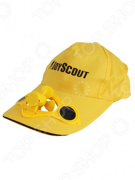 Бейсболка с вентилятором Boyscout 61484. В ассортименте