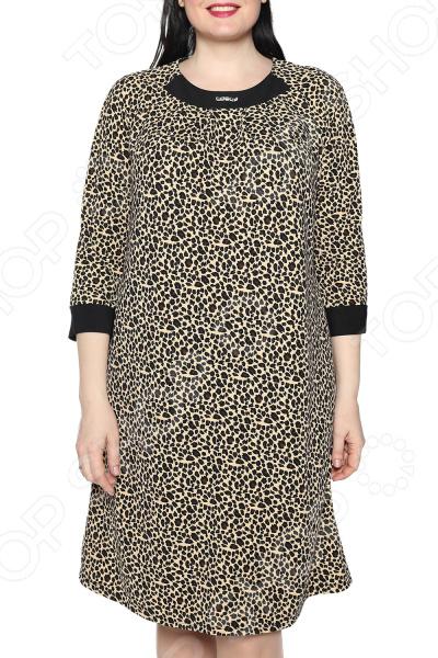 Платье Лауме-Лайн «Дама сердца». Цвет: коричневый