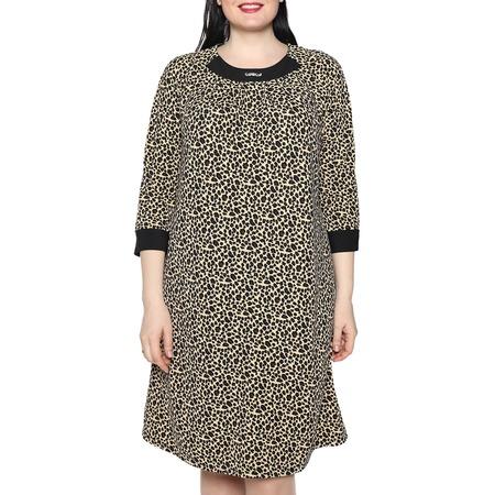 Купить Платье Лауме-Лайн «Дама сердца». Цвет: коричневый