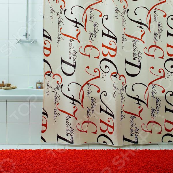 Штора для ванной Bacchetta Lettere