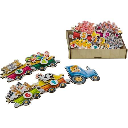 Купить Игровой набор на липучках PAREMO «Трактор с животными»