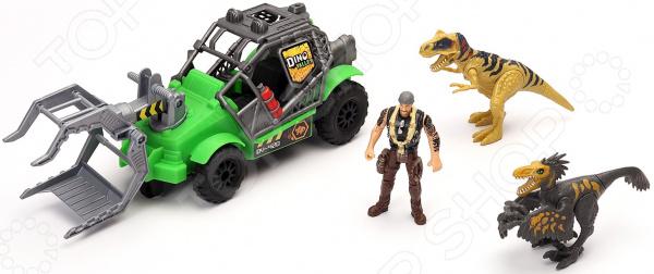 Набор игровой Chap Mei «Охотник за динозаврами: джип»