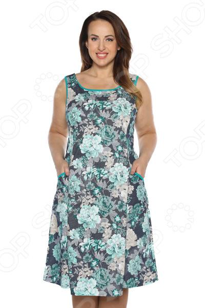 Платье Алтекс «Варенька». Цвет: зеленый