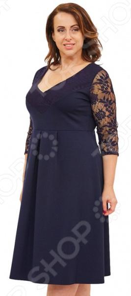 Платье Матекс «Чародейка». Цвет: синий