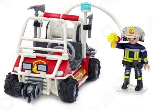 Игровой набор Playmobil «Городской Аэропорт: Пожарный квадроцикл» playmobil игровой набор пожарный квадроцикл