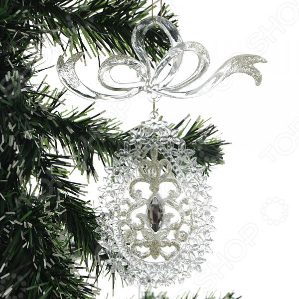 Новогоднее украшение Crystal Deco «Подвеска». В ассортименте