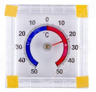 Термометр бытовой PROconnect 70-0580 подходит для измерения температуры воздуха как на улице, так и внутри помещения. Модель выполнена из пластика, отличается простым лаконичным дизайном и крепится с помощью клейкой ленты . Измерения осуществляются в градусах Цельсия и их диапазон колеблется между значениями -50 и 50 C. Цена деления составляет 1 С. Изделие упаковано в блистер с европодвесом.