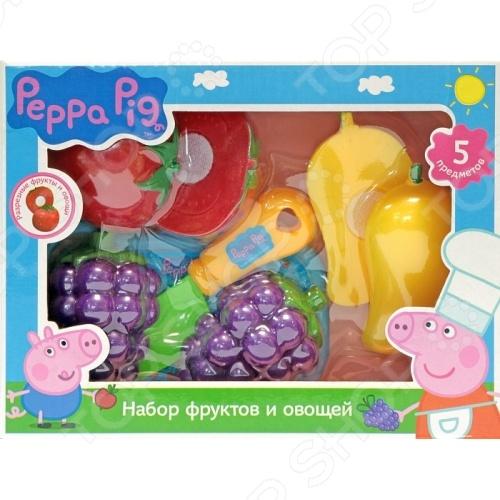 Игровой набор для ребенка Росмэн Peppa Pig «Фрукты и овощи»
