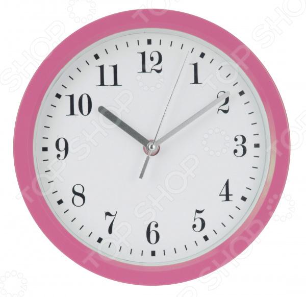 Часы настенные Mitya Veselkov «Цифры-завитки в розовой оправе» часы настенные mitya veselkov old town repairs