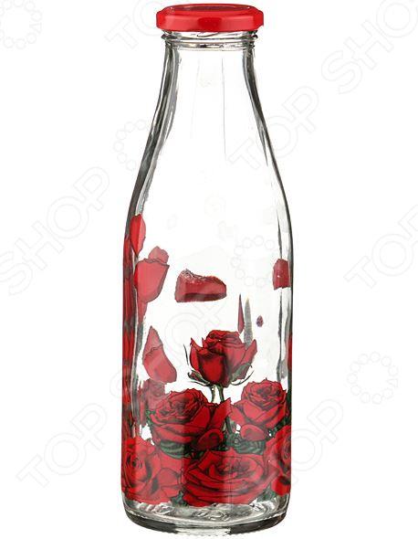 Бутылка для молока «Розарий»