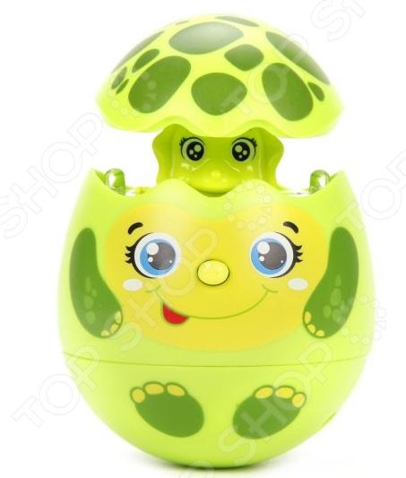 Игрушка музыкальная Азбукварик «Яйцо-сюрприз. Черепашка»