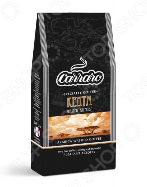 Кофе молотый Carraro Kenya великолепный напиток, выполненный в лучших итальянских традициях. Такой образец станет прекрасной основой для приготовления ароматного и вкусного кофе, способного очаровать даже самых взыскательных гурманов и кофеманов. Этот сорт выращивается на склонах гор на высоте до 2000 м, где постоянно мягкий климат создает идеальные условия для созревания кофейной ягоды. Неповторимый сладковатый вкус с выраженной кислотностью достигается за счет влажной электронной обработки и тщательной ручной сортировки зерна. Благодаря тому, что обжарка кофе проходит по классической схеме и имеет среднюю интенсивность, в результате получается великолепное сырье с утонченным вкусовым букетом и многогранным ароматом. Молотый кофе обладает богатым фруктовым ароматом, что делает его идеальным напитком после основного проема пищи, жаренных или приготовленных на гриле блюд из сочного красного мяса.