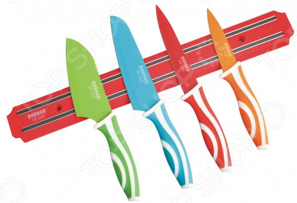 Набор ножей BK-8429 «Сантоку» нож для нарезки мяса marvel santoku series цвет серый длина лезвия 20 5 см 87313