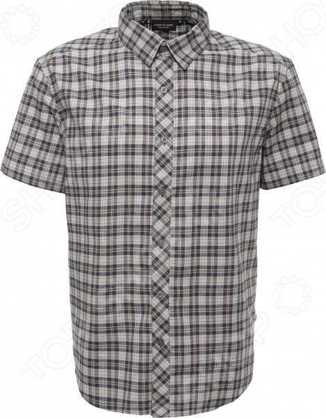 цены  Рубашка Finn Flare S15-22015. Цвет: темно-серый