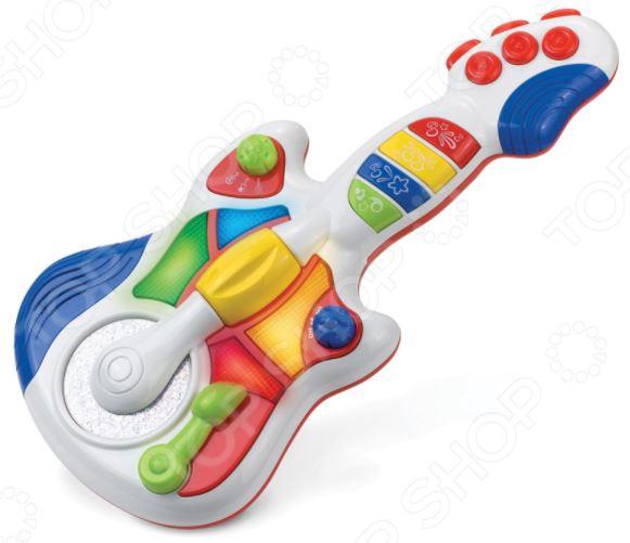 Игрушка музыкальная HAP-P-KID «Гитара» игрушки для ванны hap p kid игрушка для ванной со световым эффектом крабик
