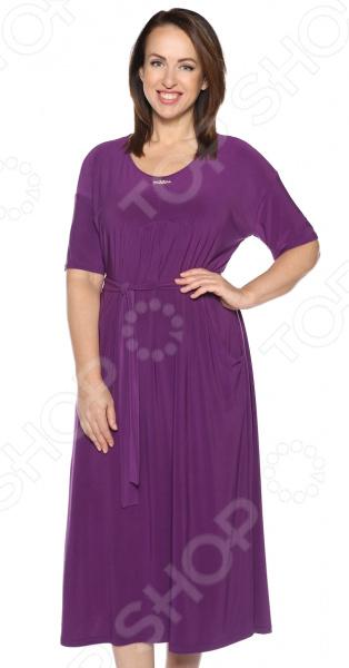 Платье Лауме-Лайн «Ласковый вечер». Цвет: фиолетовый