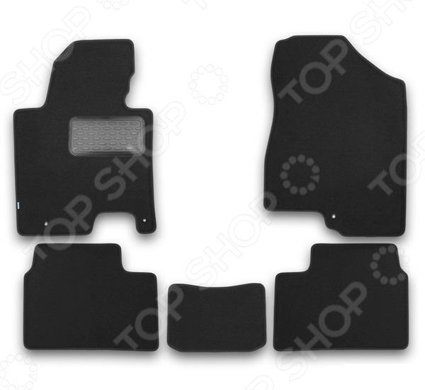 Комплект ковриков в салон автомобиля Klever KIA Cee'd 2012 Premium