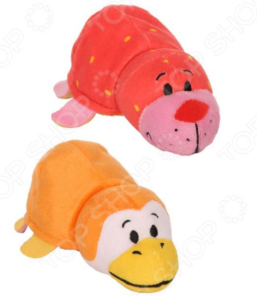 Мягкая игрушка ароматизированная 1 Toy «Вывернушка 2в1: Морской котик-Пингвин»