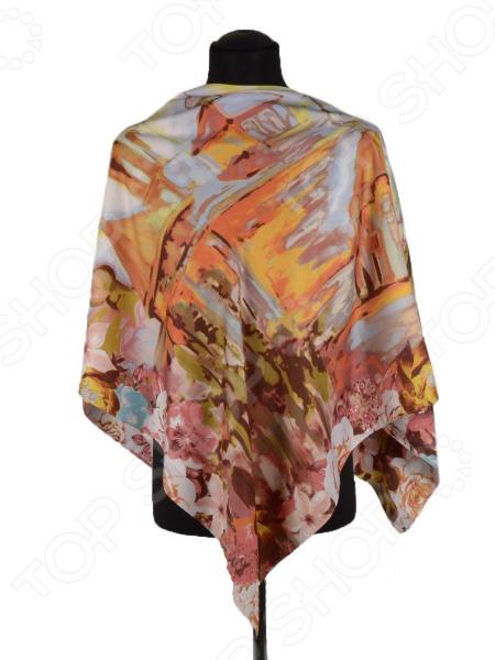 Платок Bona Ventura PL.XL-SLK.V.2 недорогой платок на шею для женщин